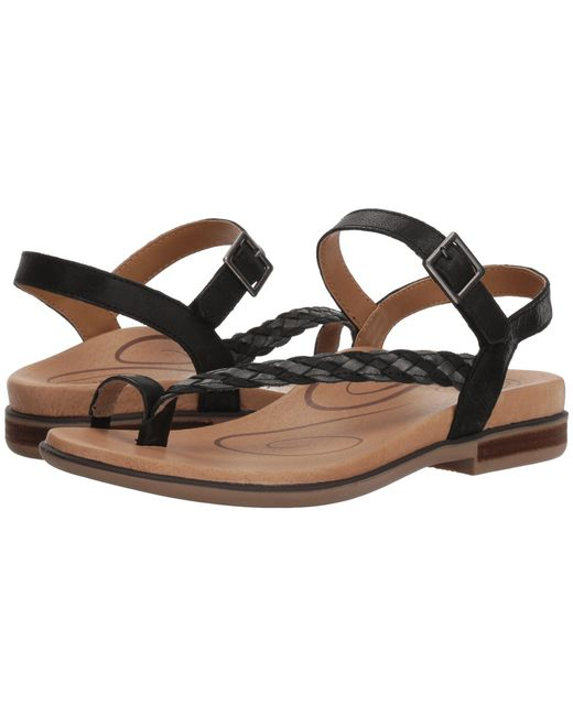 Aetrex - Evie (black) Women's Sandals - Lyst