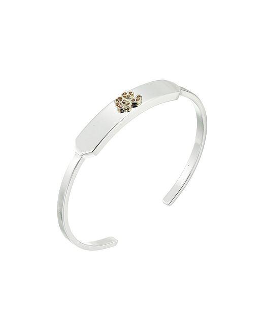 Lauren by Ralph Lauren - Metallic Crest Cuff Bracelet (two-tone) Bracelet - Lyst