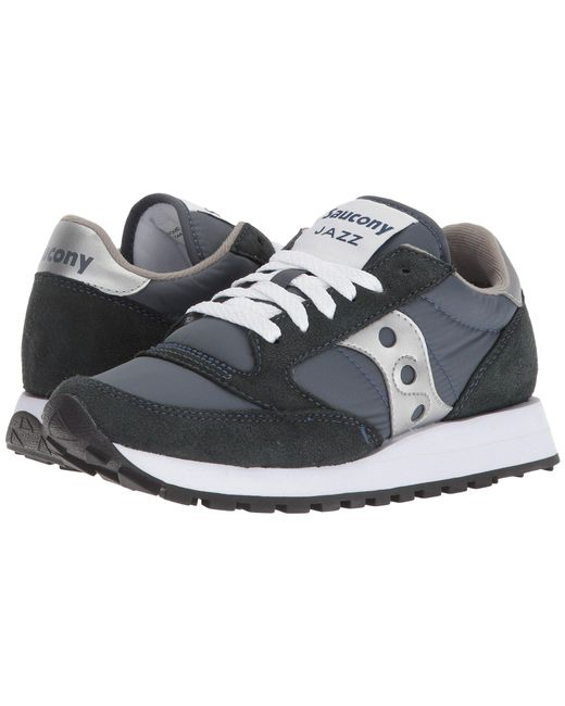 3d2490421a6f Saucony - Jazz Original (light Grey blue) Women s Classic Shoes - Lyst ...