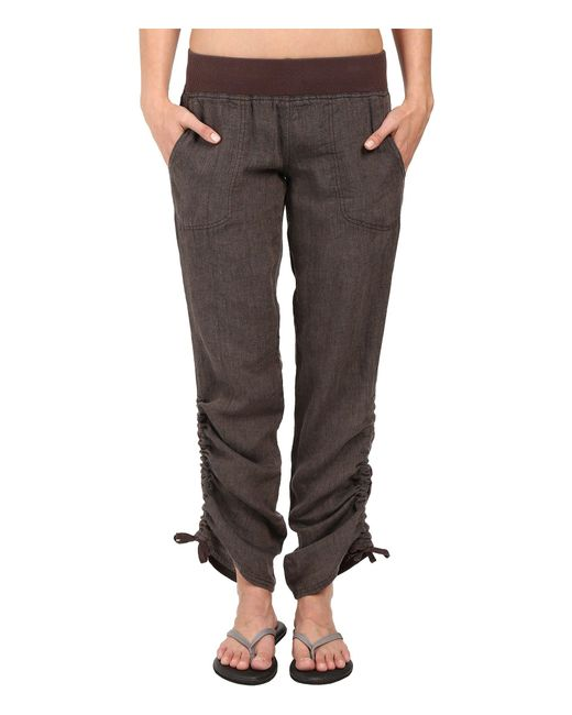 Toad&Co - Lina Pants (falcon Brown) Women's Casual Pants - Lyst