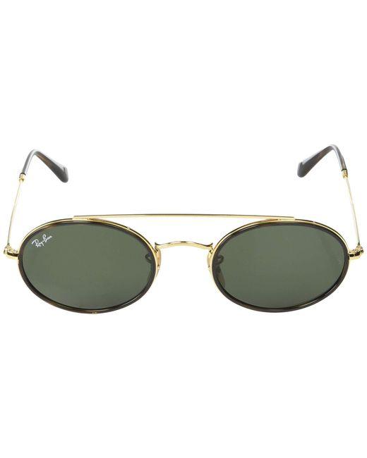 5bdd092125 ... Ray-Ban - Metallic Rb3847n 52 Mm. (gold blue Gradient) Fashion ...