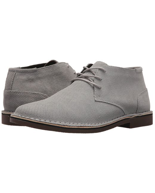 Kenneth Cole Reaction - Gray Desert Chukka (grey) Men's Lace Up Casual Shoes for Men - Lyst