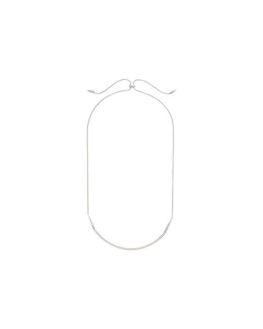 Kendra Scott - Multicolor Scottie Necklace (rose Gold Metal/white Cubic Zirconia) Necklace - Lyst