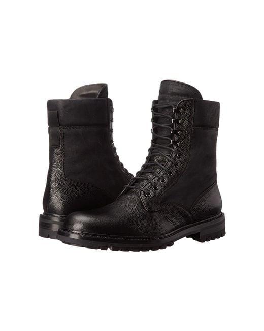 Rag & Bone - Black Spencer Commando Leather Boots for Men - Lyst