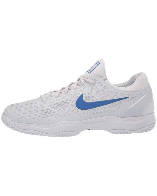 reputable site 94688 e0608 ... Nike - Blue Zoom Cage 3 Hc (white black bright Crimson) Men s ...
