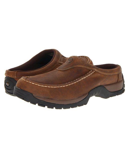Roper - Performance Moc Toe Mule (brown) Men's Slip On Shoes for Men - Lyst