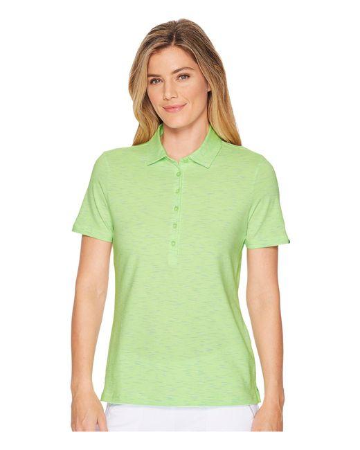 Skechers - Green Go Golf Space Dye Polo - Lyst