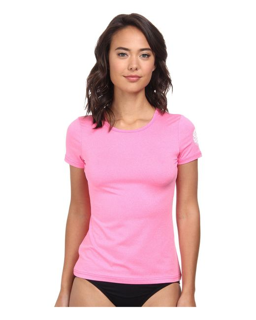 Rip Curl | Pink Wash Loose Fit Short Sleeve | Lyst