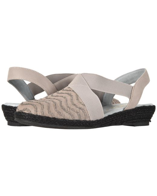 David Tate - Gray Snazzy (grey) Women's Shoes - Lyst