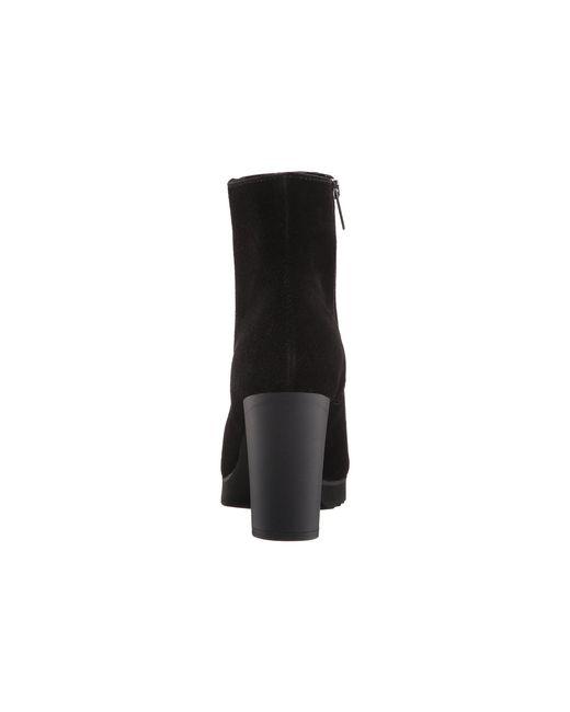 Lyst La Canadienne Myranda Black Suede Women S Boots