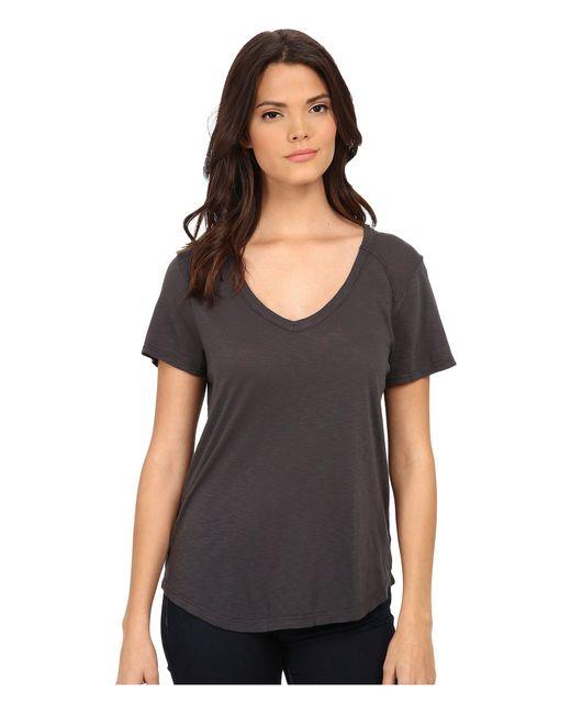 Lamade - Gray Vintage Tee (raven) Women's T Shirt - Lyst