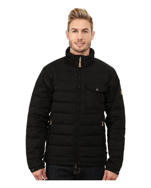 Fjallraven - Black Övik Lite Jacket for Men - Lyst