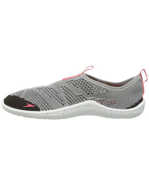 acd760572d32 Lyst - Speedo Surf Knit (frost Grey flame) Women s Slip On Shoes in Gray