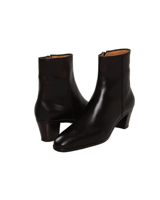 Gravati - Black Leather Ankle Boot (brown 2) Women's Dress Zip Boots - Lyst
