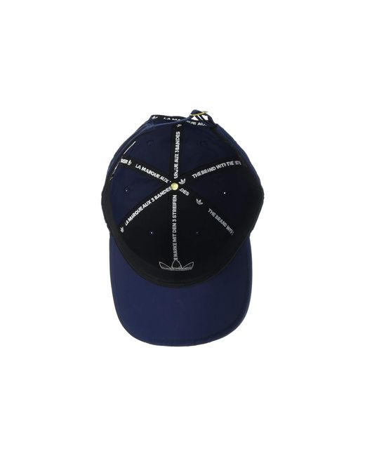 ccfdd7befb6 ... Adidas Originals - Blue Originals Relaxed Applique Strapback  (maroon white) Caps for Men ...