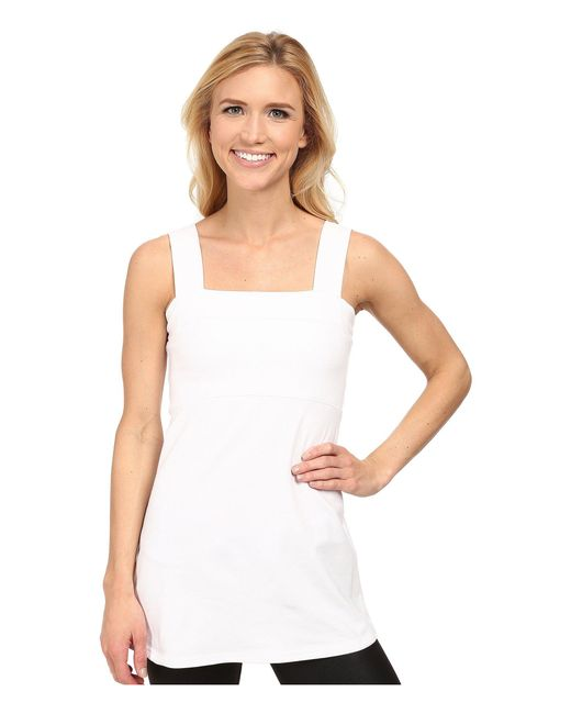 Fig Clothing - White Peg Top - Lyst