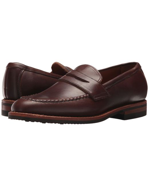 Allen Edmonds - Addison (brown Chromexcel Leather) Men's Slip-on Dress Shoes for Men - Lyst