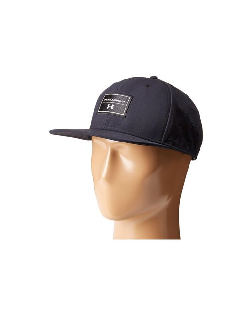 Under Armour - Black Ua Supervent Fb Hat for Men - Lyst