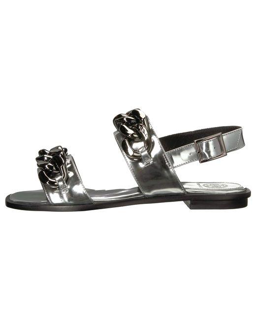 1ed1e6fbbb9 Lyst - Tory Burch Adrien Sandal (silver) Women s Sandals in Metallic