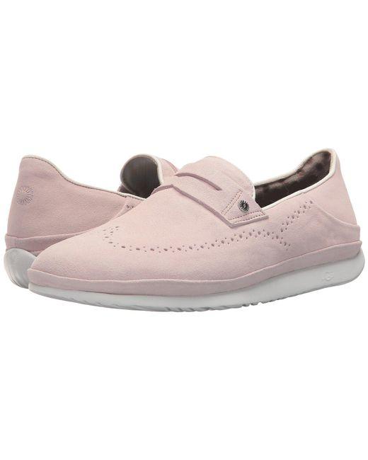 Ugg - Pink Cali Penny Slip-on - Lyst
