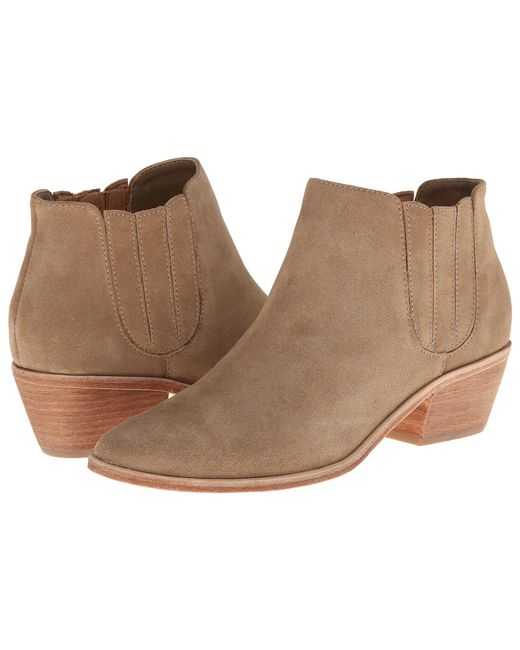 Joie - Gray Barlow Suede Ankle Boots - Lyst