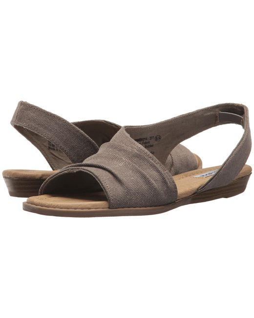 Not Rated - Brown Shanti (taupe) Women's Sandals - Lyst
