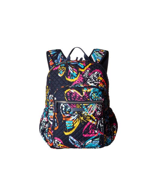 47fd048c03 Vera Bradley - Blue Iconic Campus Backpack (classic Navy) Backpack Bags -  Lyst ...