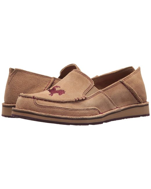 Ariat - Multicolor English Cruiser (camel) Women's Slip On Shoes - Lyst