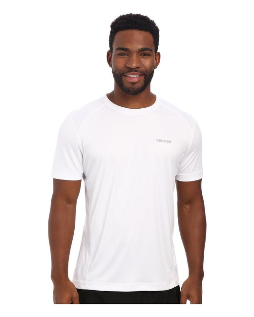 Marmot - White Windridge S/s for Men - Lyst