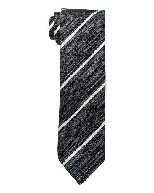 Kenneth Cole Reaction - Black Linear Stripe (taupe) Ties for Men - Lyst
