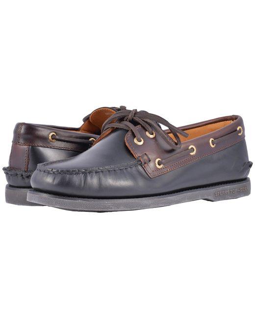 Sperry Top-Sider - Multicolor Gold A/o 2-eye (tan/gum 2) Men's Slip On Shoes for Men - Lyst