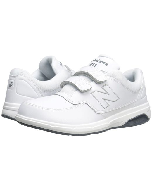 New Balance - White Mw813v1 Hook And Loop Walking Shoe for Men - Lyst