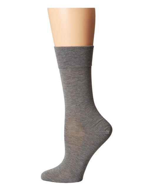 Falke - Gray Sensitive Malaga Socks - Lyst
