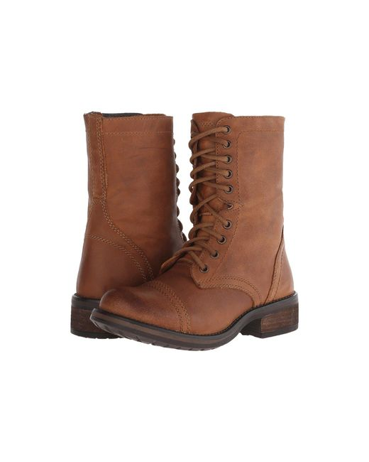 Steve Madden - Brown Troopa2.0 Combat Boot - Lyst