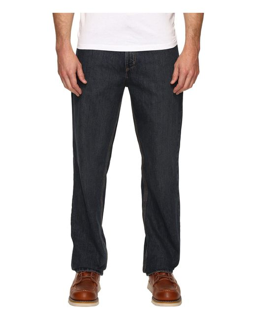 Carhartt - Blue Relaxed Fit Holter Jeans for Men - Lyst