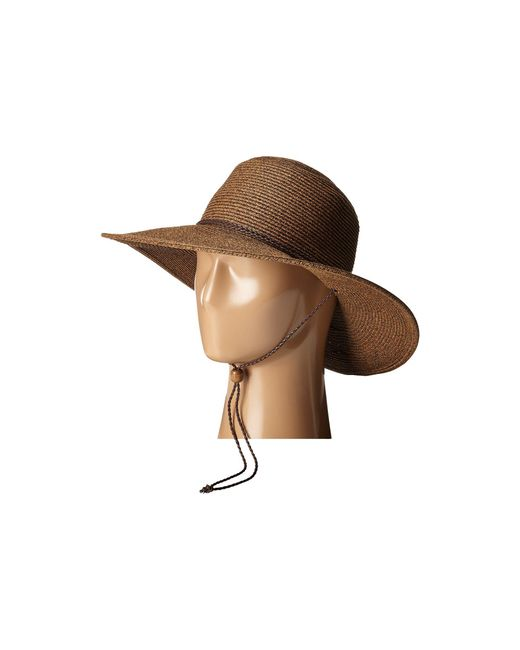 San Diego Hat Company - Brown Ubm4453 4 Inch Brim Sun Hat With Twisted Adjustable Chin Cord (natural) Caps - Lyst