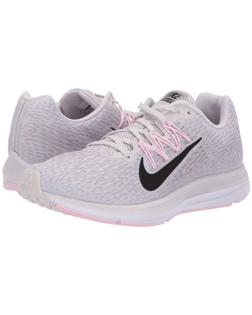 20eb98d1dfe10 Nike - Gray Air Zoom Winflo 5 (black white anthracite) Women s Running ...
