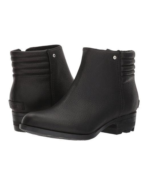 Sorel - Black Danica Short (tobacco/british Tan) Women's Waterproof Boots - Lyst