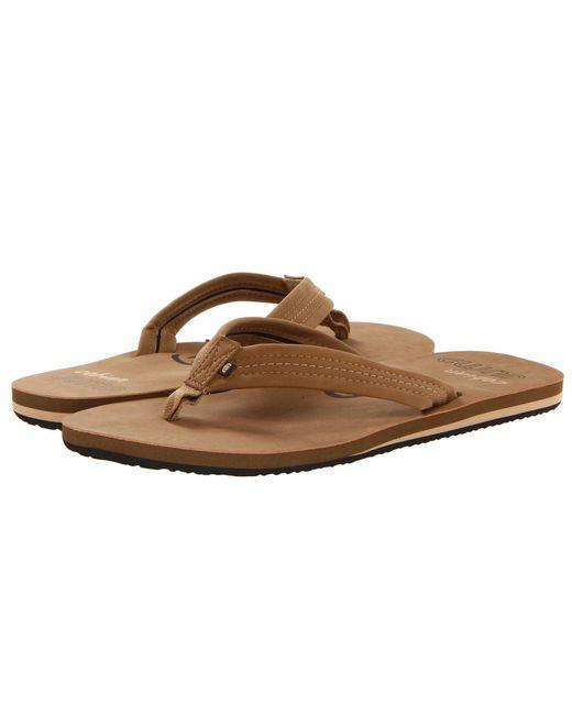 Cobian - Brown Las Olas (tan) Men's Sandals for Men - Lyst