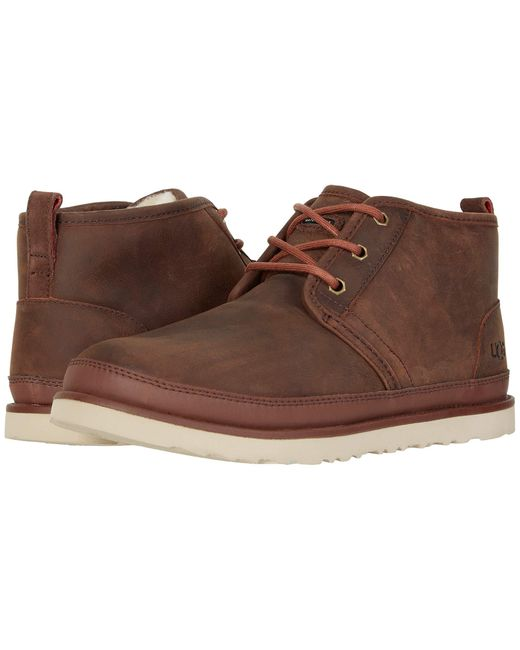 UGG Leather Neumel Waterproof in Brown for Men - Lyst