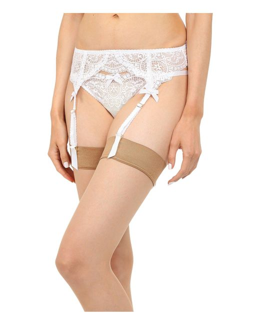 L'Agent by Agent Provocateur - Vanesa Suspender (white) Women's Active Sets - Lyst