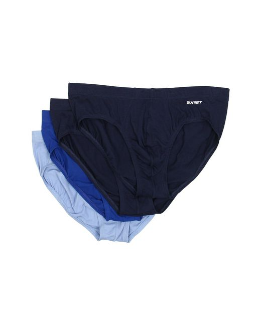 2xist - Blue Essentials 4-pack Bikini Brief for Men - Lyst