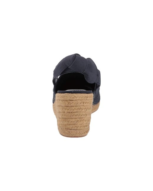 814323230fc ... Lyst Lauren by Ralph Lauren - Blue Helma (dark Midnight Linen) Women s  Shoes ...