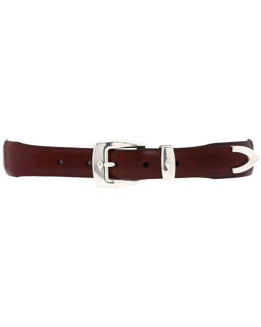 Brighton - Brown Denver Diamond Belt for Men - Lyst