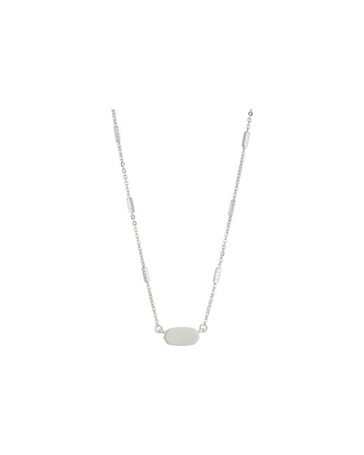 Kendra Scott - Metallic Fern Necklace (gold) Necklace - Lyst