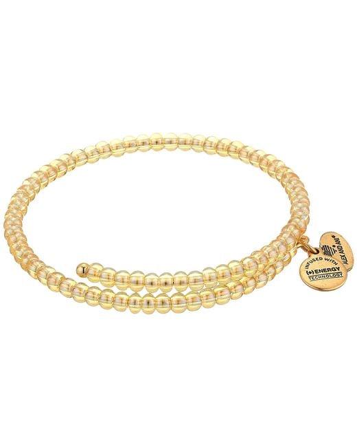 ALEX AND ANI - Metallic Primal Spirit Wrap Bracelet - Lyst