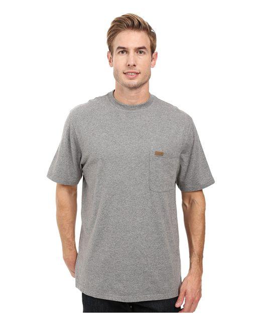 Pendleton - Gray S/s Deschutes Pocket Shirt (grey Heather) Men's T Shirt for Men - Lyst