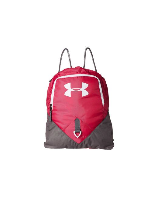 Under Armour - Red Ua Undeniable Sackpack - Lyst
