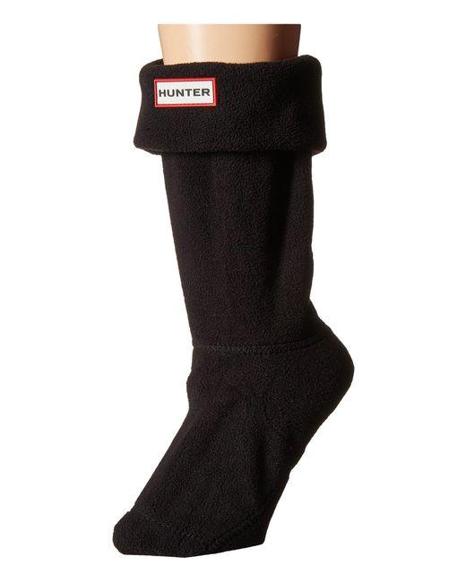 Hunter - Black Short Boot Socks - Lyst