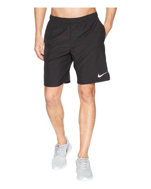 Nike - Challenger 9 Running Short (black/black) Men's Shorts for Men - Lyst